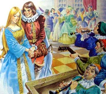 Любовные сказки о принцессах и принцах