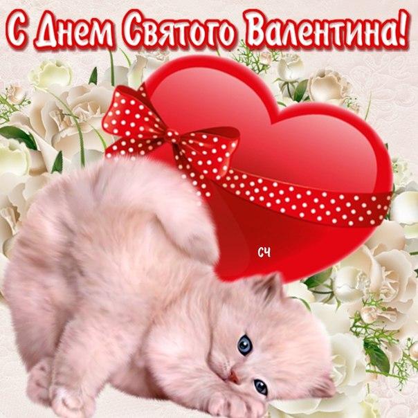Прикольные поздравления на День Святого Валентина